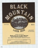 INDIA - Mohan Meakin Brew Ghaziabad - BLACK MOUNTAIN - beer label