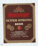 INDIA - Winsome Brew Sarehkhurd - HENINGER SUPER STRONG - beer label