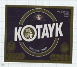 ARMENIA - Kotayak Brew Abovyan  - Beer label