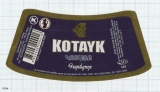 ARMENIA - Kotayak Brew Abovyan - KOTAYK Lager Beer LION - Beer label