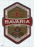 COSTA RICA - Cervecería Costa Rica San Jose - BAVARIA Beer - beer label