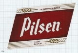COSTA RICA - La Florida, S.A. Heredia - cerveza Rubia PILSEN - beer label
