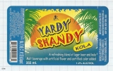 JAMAICA - Big City Brew Co Kingston - YARDI SHANDY KOLA - beer label