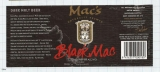 NEW ZEALAND - Micro, McCashin Family Brew Nelson - BLACK MAC - beer label