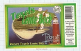 HOLLAND - Micro, Texelse Oudeschild - LENTE BOCK lighthouse beer label