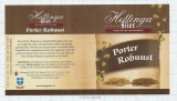 HOLLAND - Micro, Hettingabier Zwolle - PORTER ROBUUST - beer label