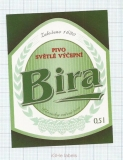 CZECH REPUBLIC - Vyškov - BIRA - beer label