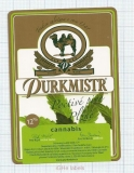 CZECH REPUBLIC - Micro, Piv.Purkmist Plzeň - CANNABIS (camel) - Beer label