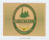 SWEDEN - Micro, Avesta Bryggeri Fors - MUNKTELLS locomotive,train - beer label