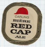 CANADA - Carling Vancouver - RED CAP ALE - beer label