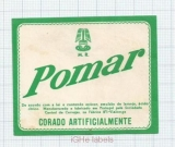 PORTUGAL - Fabrica No.1 Vialonga - POMAR Corado Artificialmente - beer label