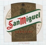 SPAIN - San Miguel Malga - Especial - beer label
