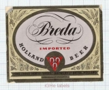 HOLLAND - The Three Horse Shoes Brew Breda - IMPORTED - beer label