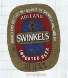 HOLLAND - Bavaria Brouwerij Lieshout - by SWINKELS - beer label