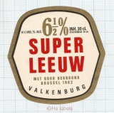 HOLLAND - De Leeuw Valkenburg - SUPER LEEUW - beer label