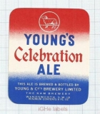ENGLAND (UK) - Young & Co Brew Wandsworth - CELEBRATION ALE - beer label