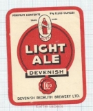 ENGLAND (UK) - Davenish Redruth Brew - LIGHT ALE - beer label