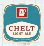 ENGLAND (UK) - Whitbread & Co LTD London - CHELT LIGHT ALE - beer label