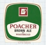 ENGLAND (UK) - Whitbread & Co LTD London - POACHER BROWN ALE - beer label