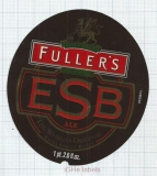 ENGLAND (UK) - Fuller's London - ESB -beer label