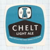 ENGLAND (UK) - West Country Brew Cheltenham - CHELT LIGHT ALE - beer label