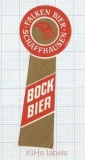 SWISS - Falken Schaffhausen - BOCK BIER - beer label