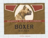 SWISS - Brau.BOXER Romanel - SELECT - beer label
