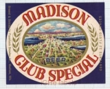 US - Fauerbach Brew Co Madison, Wi - CLUB SPECIAL- beer label
