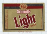 US - Christian Schmidt Brew Co Philadelphia PA - LIGHT BEER - beer label