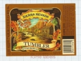 US - Sierra Nevada Brew Co Chico, CA - TUMBLER - beer label