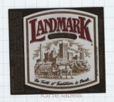 US - Landmark Beer Co Syracuse NY - LANDMARK - beer label