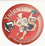 DENMARK - Micro,Beer Here Tejn - JULE WINE christmas woman - beer label