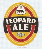 NEW ZEALAND - Leopard Brew Hastings - LEOAPARD ALE - beer label