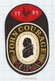 ENGLAND (UK) - Courage & Barclay London - IPA - beer label