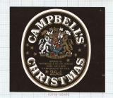 ENGLAND (UK) - Whitbread & Co LTD London - CAMBELL'S christmas - beer label