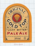 AUSTRALIA - Carlton & United Brew - GOLD TOP - beer label