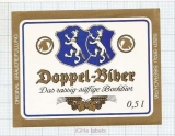 GERMANY - Biber Bräu Biberach - DOPPEL BIBIER- beer label