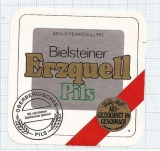 GERMANY - Erzquell Brauerei Bielstein Haas & Co. - beer label