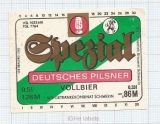 GERMANY - Brauerei Schwerin - VOLLBIER - beer label