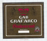 GERMANY - Gräfliche Brauerei Arco Valley Eichendorf-Adldorf - beer label