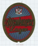 GERMANY - Altenburger Brauerei (Leikeim) Altenburg - LAGER - beer label