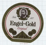 GERMANY - Engelbräu G.Fach - ENGEL GOLD - beer label