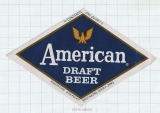 US - American Brewery Baltimore, MD - Draft Beer - beer label