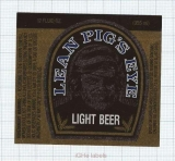 US - City Brewery La Crosse, WI - Pigs Eye Lean - beer label