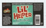 US - Micro,Mother's Brewing Co Springfield, MO - LIL HELPER - beer label