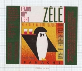 US - Micro, ZELE Lemon Dry Light Pinguin - beer label