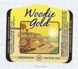 US - Micro,Karl Strauss Brewing Co San Diego, CA - WOODIE GOLD - beer label