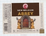 US - New Belgium Brew Co Fort Collins, CO - ABBEY Lion - beer label