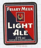 ENGLAND (UK) - The Friary Meux Guildford - LIGHT ALE - beer label