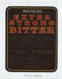 ENGLAND (UK) - Waitrose Bracknell - EXTRA STRONG BITTER - beer label